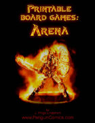 Printable Board Games: Arena