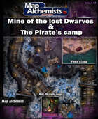 Mine of the lost dwarves & Pirate's camp