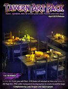Tavern & Inns Art Pack For RPG Maps. 315 Icons, symbols & bits