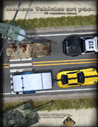 Vehicles Art Pack For RPG maps, 93 Items with commercial use