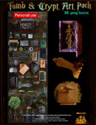 Crypt & tomb art pack personal use