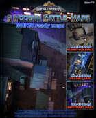 3 Huge Modern Battle-Maps for Roll 20 & Printing