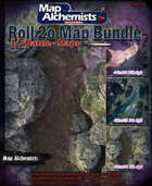 17 Fantasy battle-Maps for Roll 20 & Printing Bundle [BUNDLE]