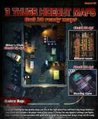 3 Thug's Hideout Modern Era for Roll 20 & Printing