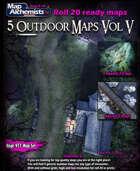 5 Outdoor Battle-Maps Voulme V  for Roll 20