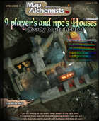 9 player's and npc's house maps and art pack