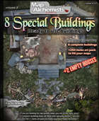 8 Artisan's house or special buildings maps and art pack  Volume 2