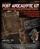 Post-apocalyptic Cars/Tokens and map