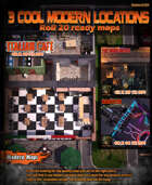 3 Cool modern maps locations