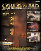 2 Cool Wild West maps