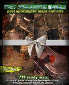 Post apocalyptic Maps & arts Bundle [BUNDLE]