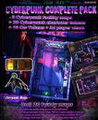 Cyberpunk maps & art Kit