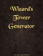 Wizard's Tower Generator