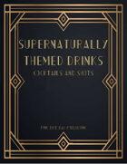 Supernaturally Themed Drinks