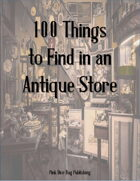 100 Things to Find in an Antique Store