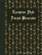 European Style Forest Generator