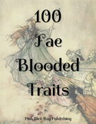 100 Fae Blooded Traits