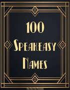 100 1920s Speakeasy Names