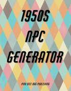 1950s NPC Generator