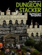 Dungeon Stacker - Battlement Template