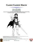 Classic Classes: Magus (5e)