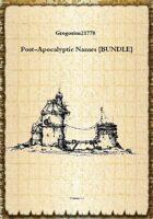 Post-Apocalyptic Names [BUNDLE]