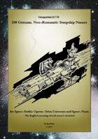 Gregorius21778: 100 German, Neo-Romantic Starship Names