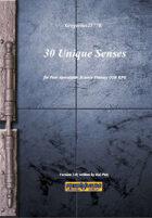 Gregorius21778: 30 Unique Senses