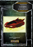Gregorius21778: Loot Tables for Hover-car Wrecks
