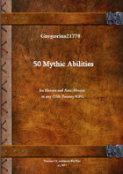 Gregorius21778: 50 Mythic Abilities