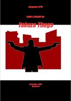 Gregorius21778: Looks & Details for Yakuza Thugs