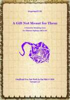 Gregorius21778: A Gift Not Meant for Them