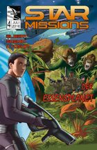 STAR MISSIONS - #4 The Food Planet (GERMAN) (Variant Cover)
