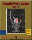 Pandalf the Grixel Stock Art