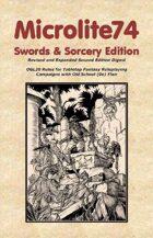 Microlite74 Swords & Sorcery 2e Digest/Epub