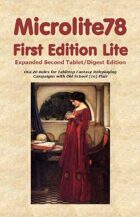 Microlite78 First Edition Lite Expanded Second Edition (Tablet/Digest)