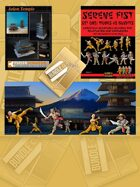 Asian Temple and Paper Minis [BUNDLE]