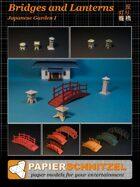 Japanese Garden: Bridges and Lanterns
