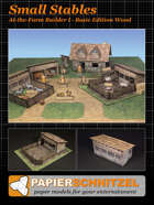 Small Stables At-The-Farm II BASIC EDITION STONE B