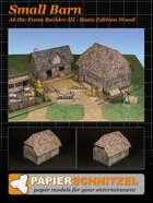 Small Barn At-The-Farm III BASIC EDITION WOOD