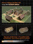 Norse Village Builder 3 BASIC EDITION SAXON