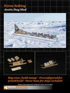 Arctic Dog Sled