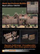 Dark Age Fortress Builder I BASIC EDITION VIKING