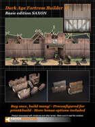 Dark Age Fortress Builder I BASIC EDITION SAXON