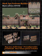Dark Age Fortress Builder I BASIC EDITION STONE