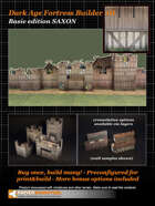 Dark Age Fortress Builder II BASIC EDITION SAXON