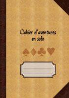 Cahier d'aventures en solo (pages à petits carreaux)