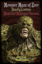 Monster Maze of Zorr: Deadly Combat: Monsters! Monsters! Version