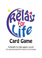 The Relay For Life Game w/tuckbox