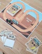 The Great Camel Race Playmat